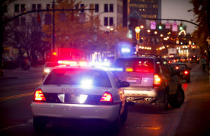 A Traffic Stop Showing A Citizen Who Will Be Needing A DUI License Reinstatement Lawyer in Michigan